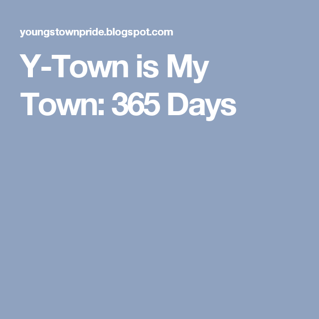 Y-Town is My Town: 365 Days