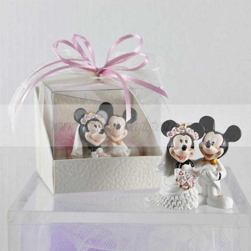 Bomboniere Matrimonio Disney.Pin Di Il Villaggio Degli Sposi Su Cake Topper Disney Bomboniera