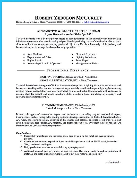 Good Resume Examples Ideas Professional Sample Objective