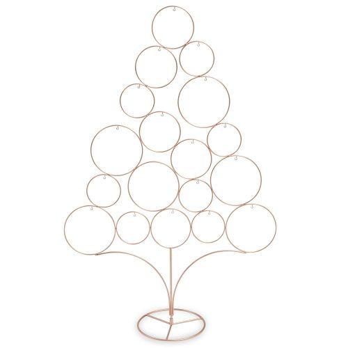 sapin de no l en m tal argent h 95 cm modern copper d coration petits objets noel sapin. Black Bedroom Furniture Sets. Home Design Ideas