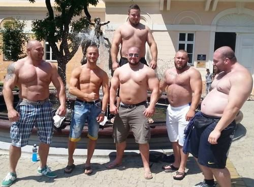 Powerlifters Powerlifting Strongman Strongmen Muscular Muscle Big