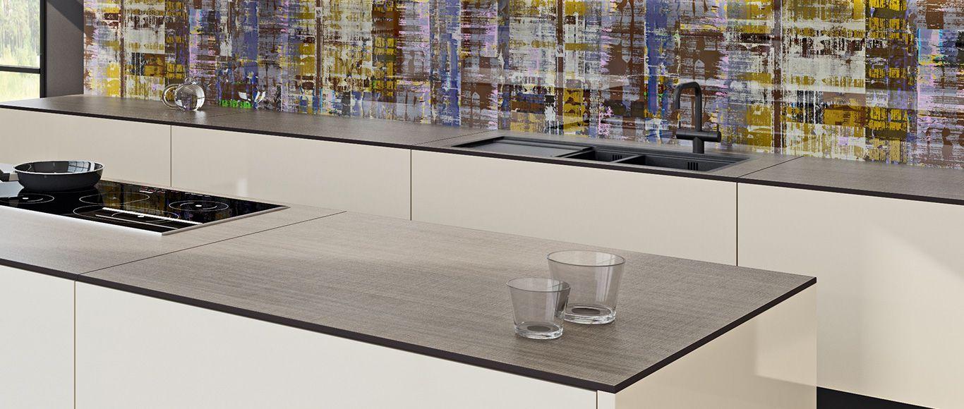 2 kücheninsel-ideen arbeitsplatte compact  küche  pinterest