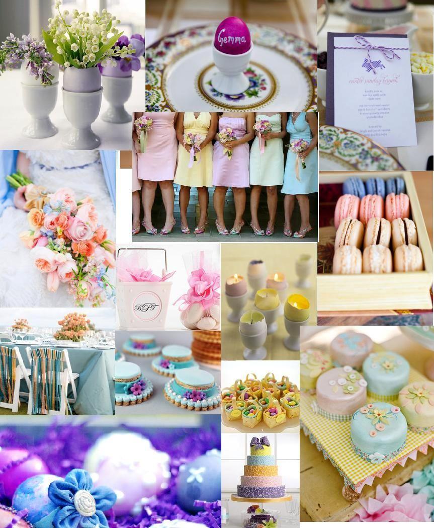 Pastel Shades Easter Treats Google Search Wedding Ideas Weddings Colour Schemes Holiday Decor