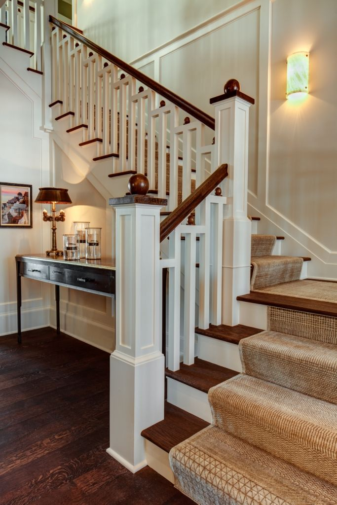 Best Staircase Paint Grade Balusters Stringer Risers With 640 x 480