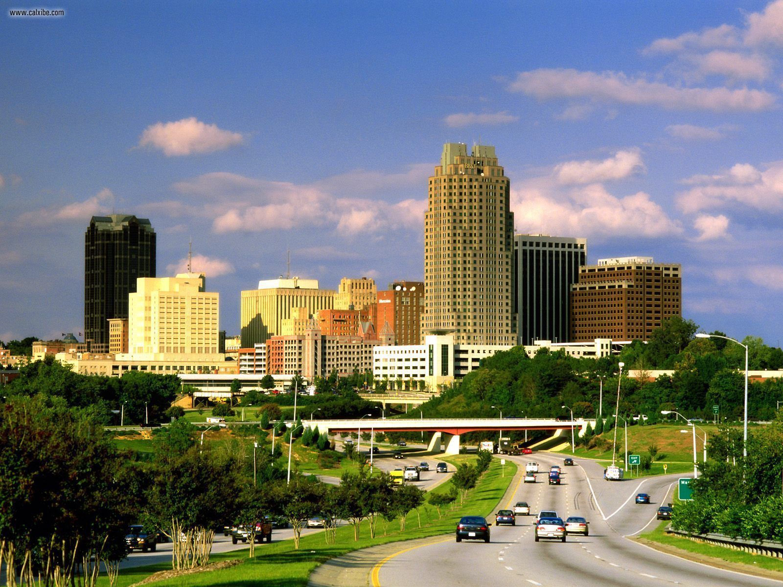 Here is Raleigh, North Carolina where we lived during the