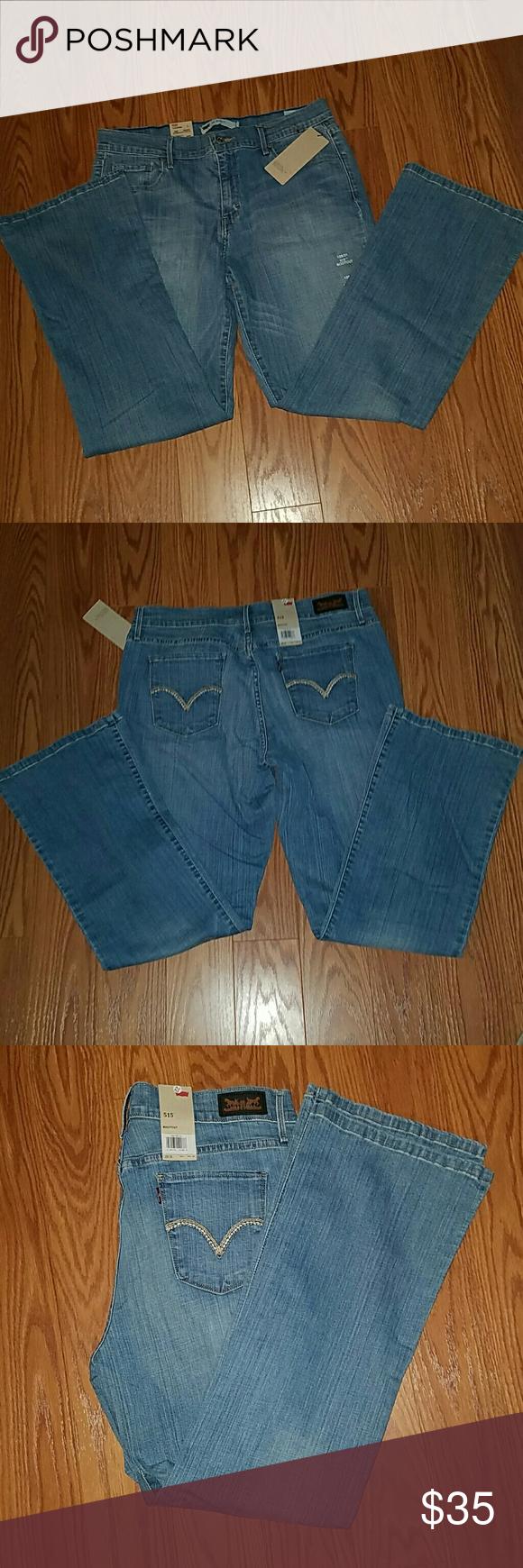 Levis 515 Black label Bootcut Midrise 12S/31 NWT Levis 515 Black label Bootcut Midrise 12S/31 NWT Levis Jeans Boot Cut