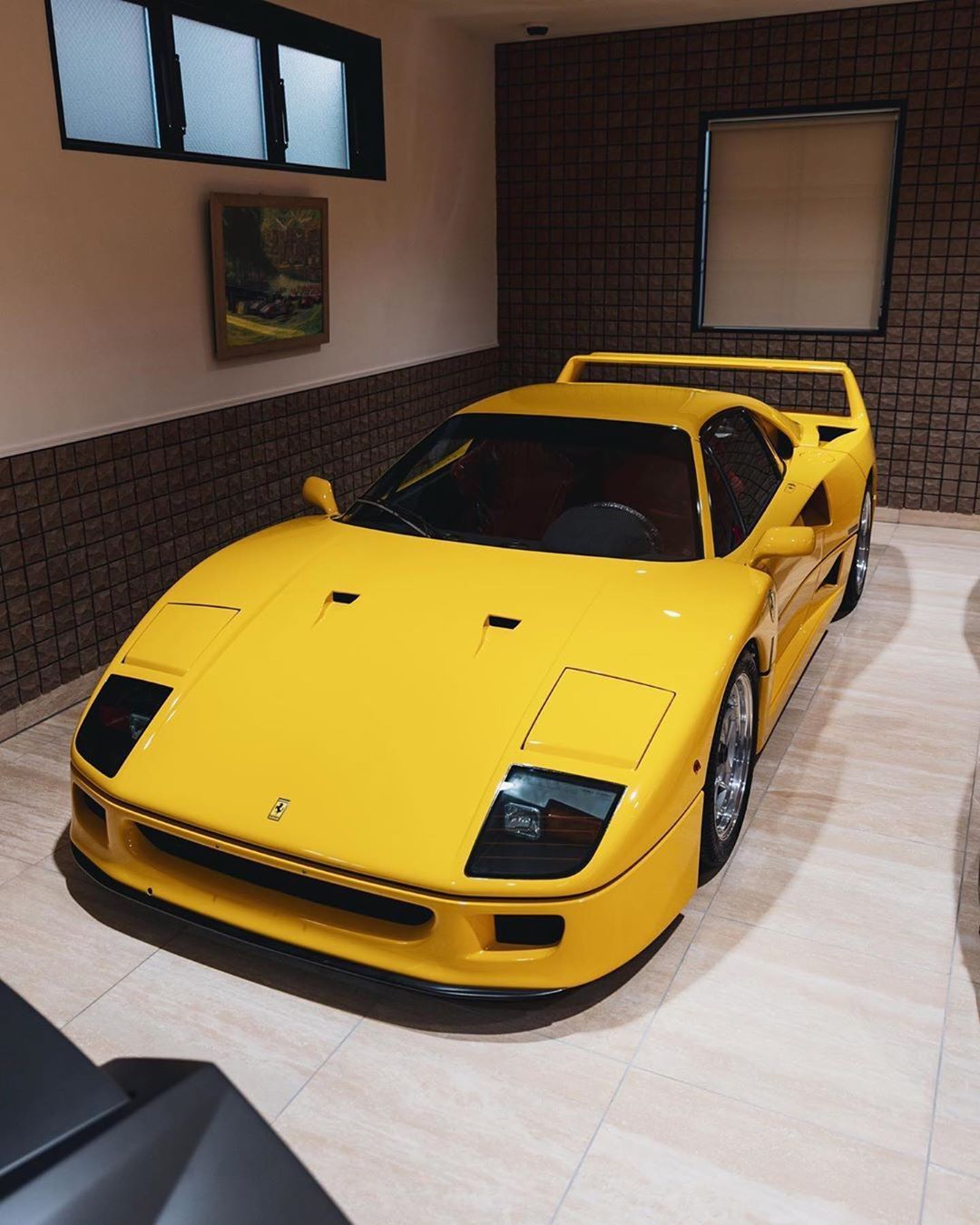 Regular Yellow F40 Or Not Regular F40 Lm That Is The Question