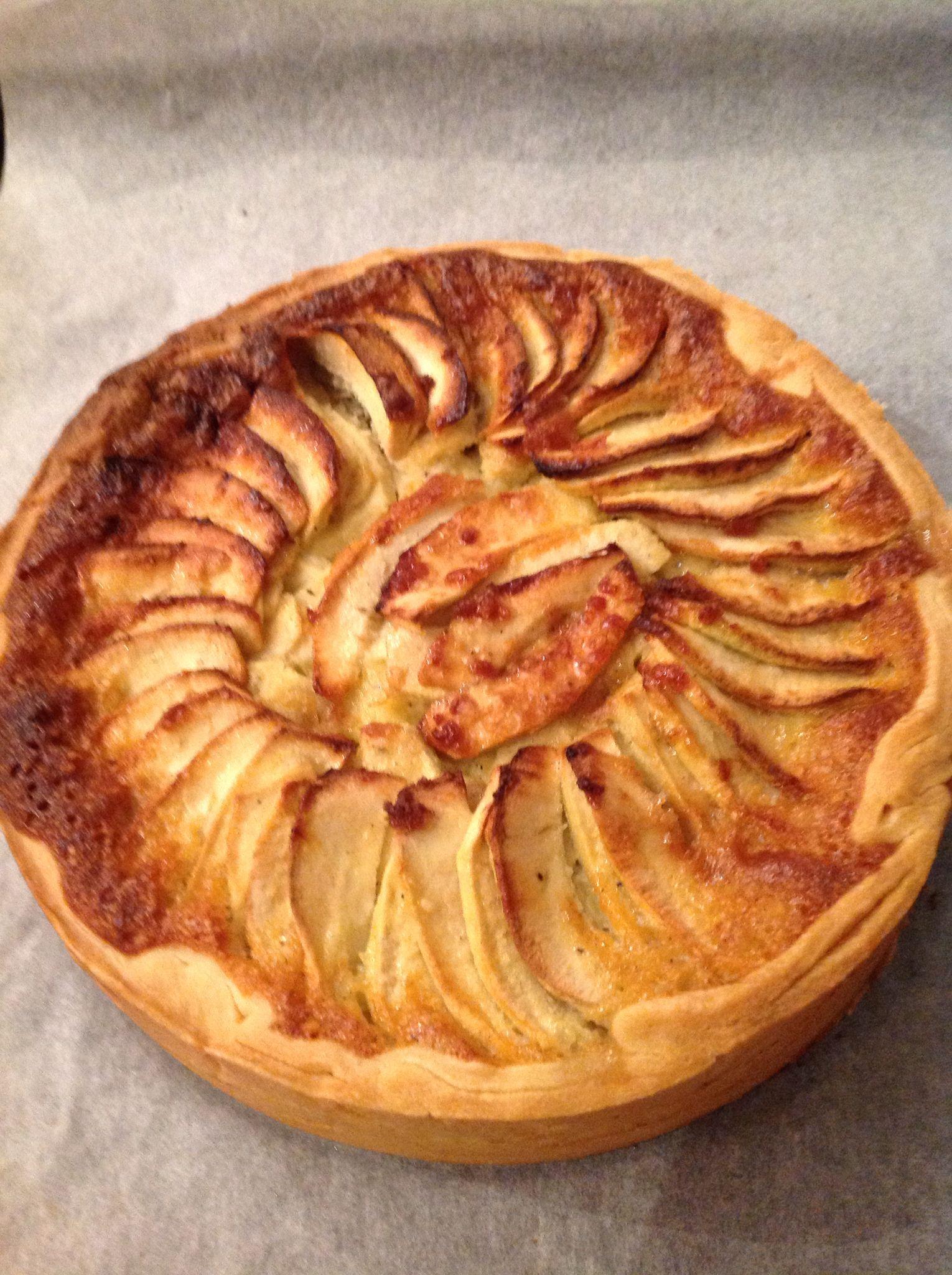 Tartes aux pommes et amandes