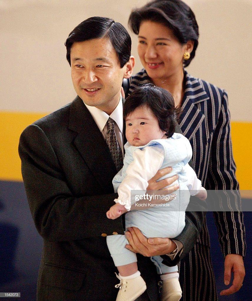 Japanese Crown Prince Naruhito Crown Princess Masako And Their Japan Japanese Japan Image