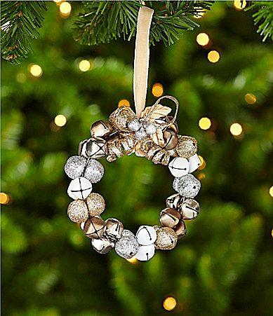 Southern Living Bell Wreath Ornament #Dillards christmas - southern living christmas decorations