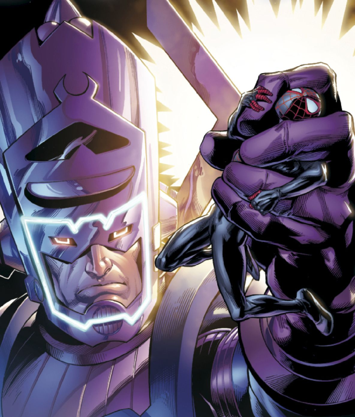 Spider-Man vs. Galactus   Marvel comics, Marvel comics art ...