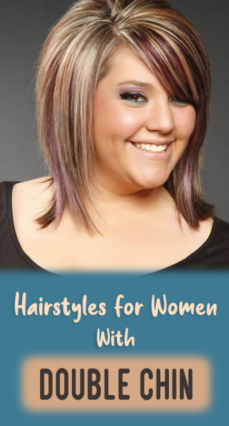 10 Women's Hairstyles To Hide That Double Chin