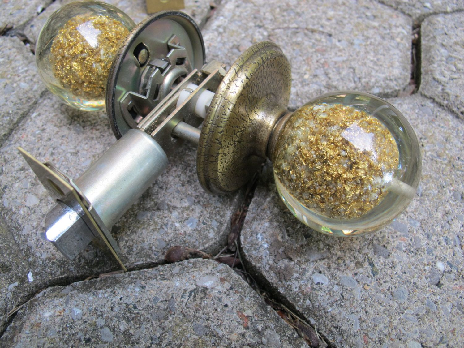 sale weiser bathroom door knob set acrylic balls with gold flakes gold flake and lucite door knob bathroom lock hardware