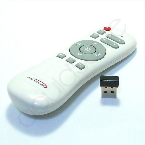 2 4 GHz wireless Air/ Fly Mouse with Remote Control Learning for