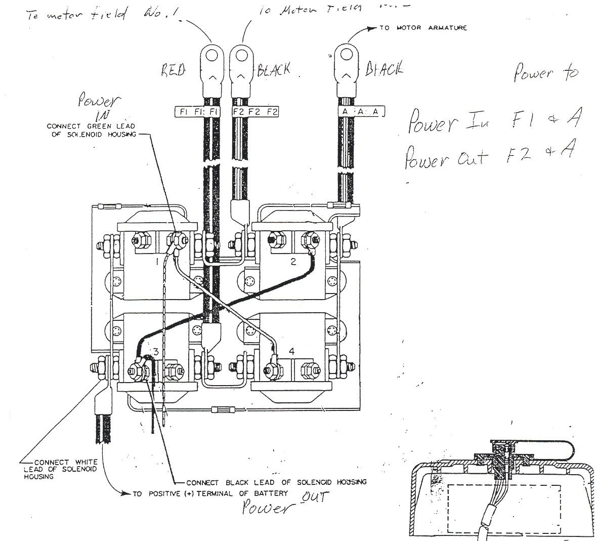C Warn Atv Winch Solenoid Wiring Diagram