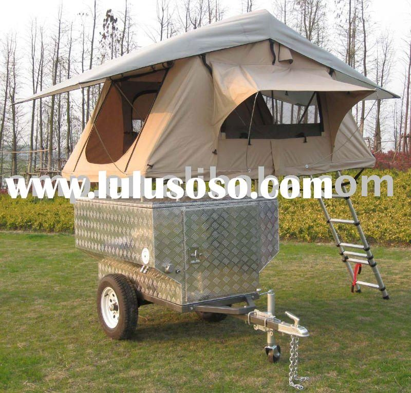 Camping Trailers: Cool ATV Camper Trailer / Tent Trailer