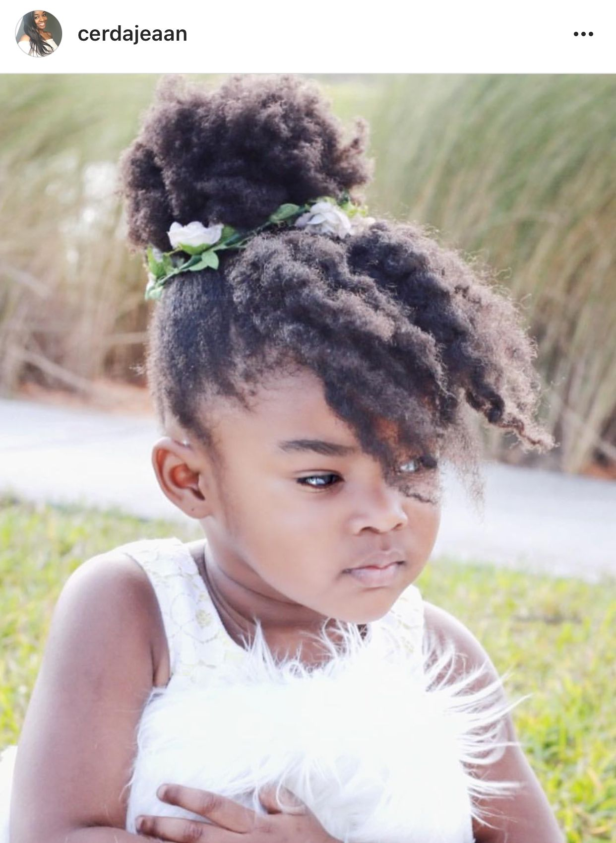 The Cutest Flower Girl Natural Hair Bride Curly Bride