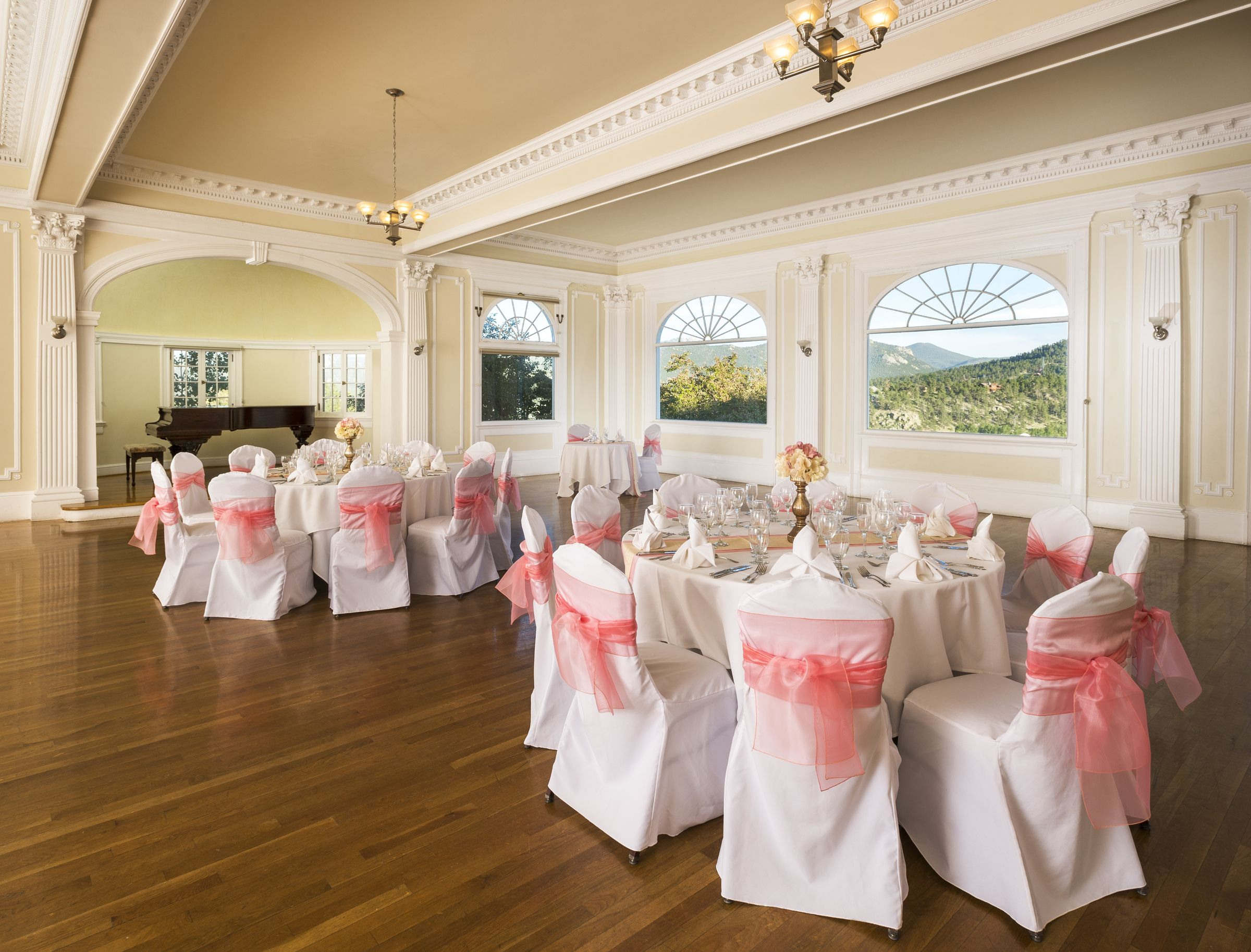 Indoor Wedding Reception Venue - Music Room Stanley