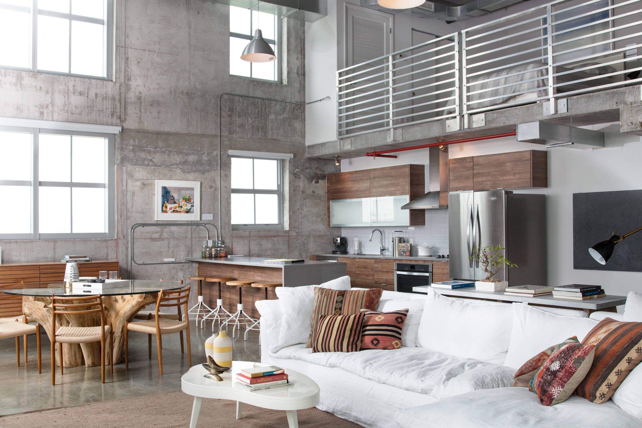 Simple But Striking Miami Shores Design Loft