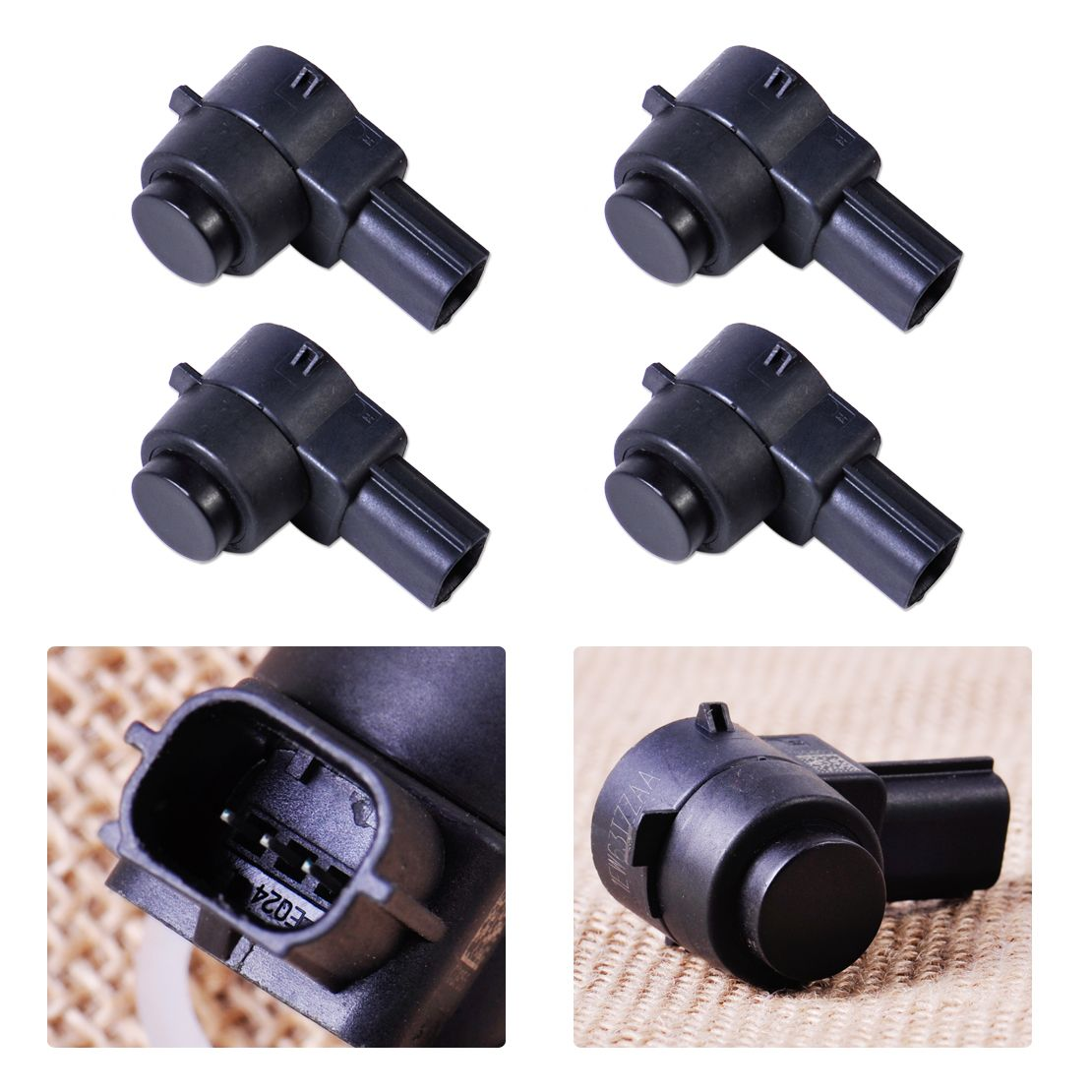 4pcs Parking Park Aid Bumper Sensor Assist 1ew63tzzaa For Chrysler