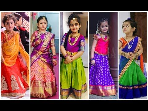 23781574819021 Kids Party Wear Traditional Dress Designs Catalogue