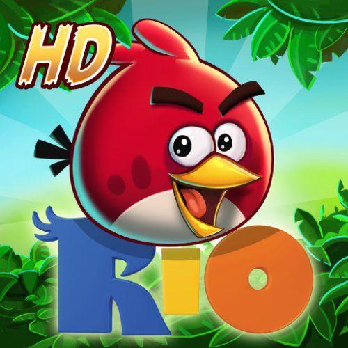Angry Birds Rio Hd Kindle Tablet Edition By Rovio Entertainment Ltd Http Www Amazon Com Dp B007n85pos Ref Cm Angry Birds Angry Birds Rio Game Free Games