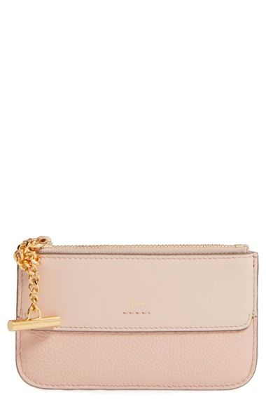 Chloé Joe Calfskin Leather Coin Pouch available at #Nordstrom