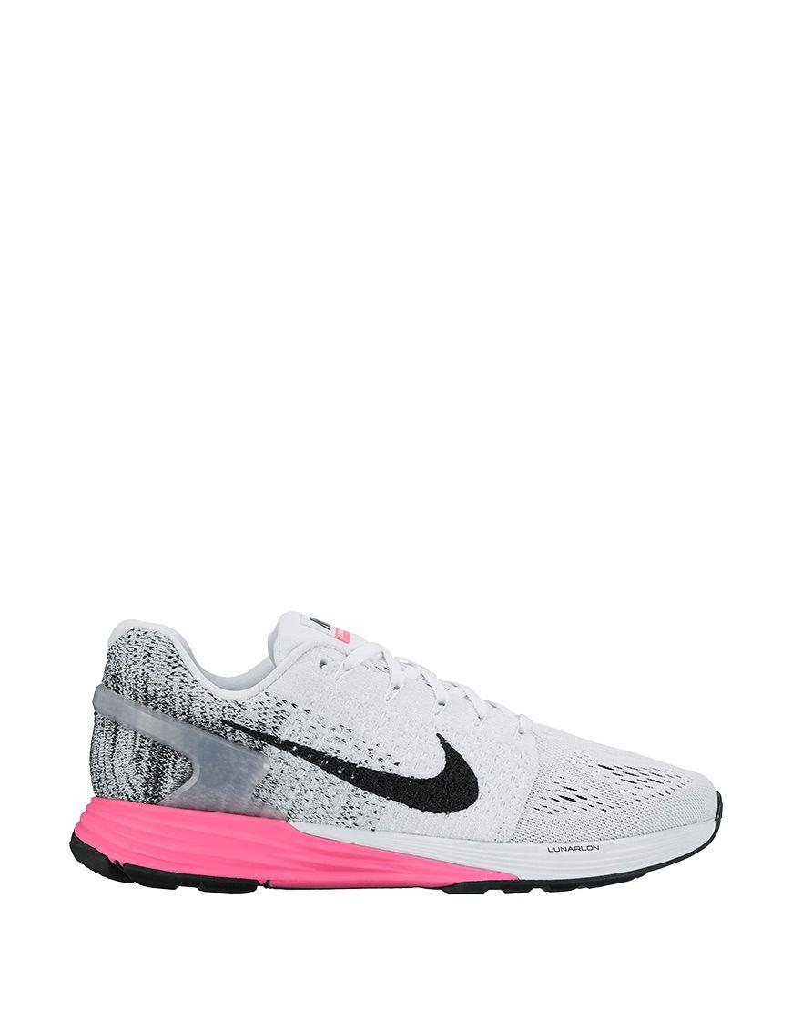 newest 25825 e5c1c ... ireland koop hardloopschoen nike lunarglide 7 white black pink blast  online op f1b3e 51365