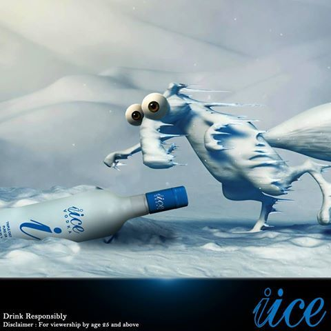 Brrrr...Its gonna be a Satur-iice-day...  #iice , #bestvodkaindia , #vodka in india