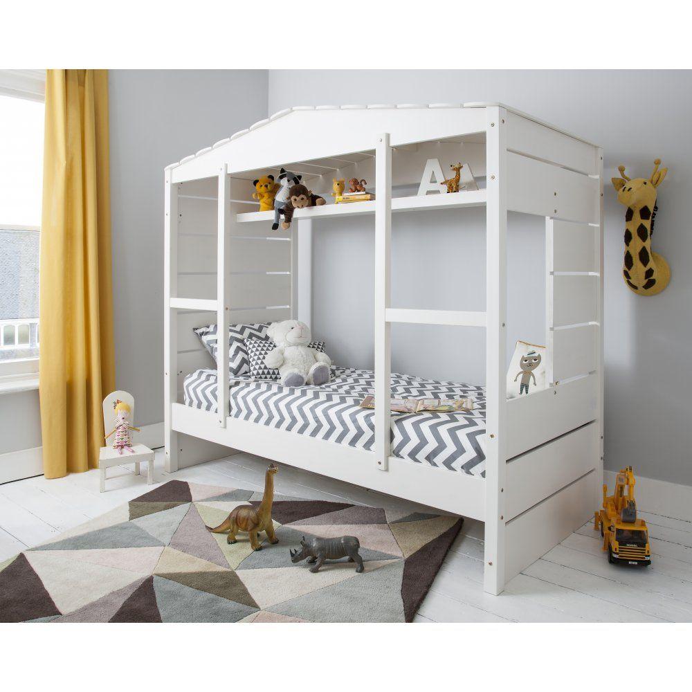 Harvey ivory sleep station right hand ladder boys bedroom