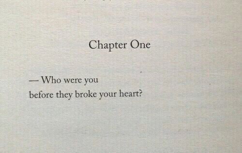 Go back to who you were