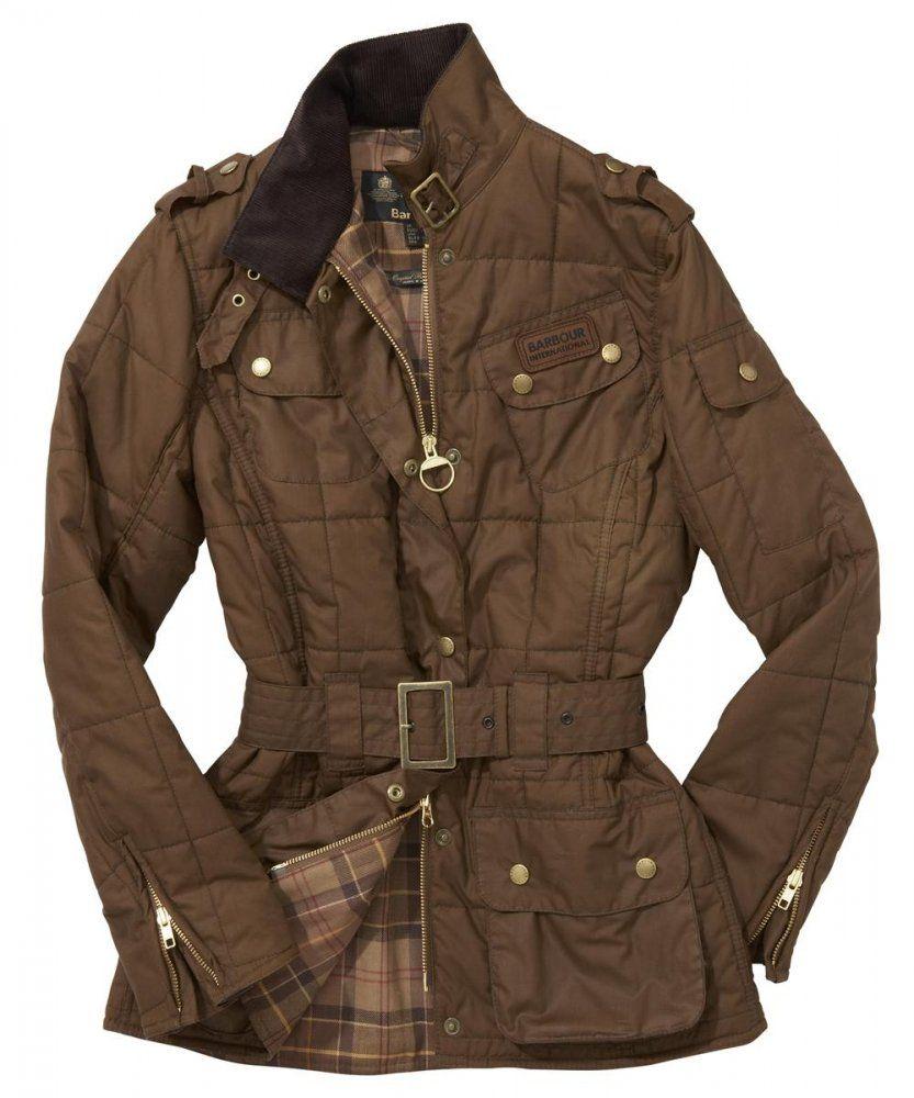 Brown Padded Jacket Ladies - My Jacket