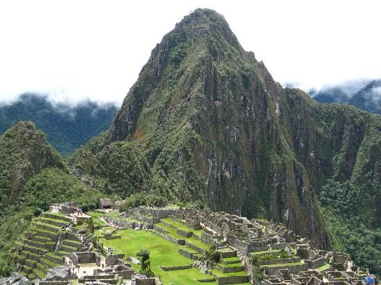 Macchu Picchu. Not ok that I was born in Peru and have not been there...A MUST