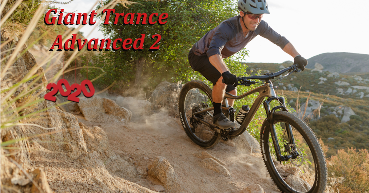 Giant Trance Adv 2 20 Chl 20 L In 2020 Bike Trails Trance