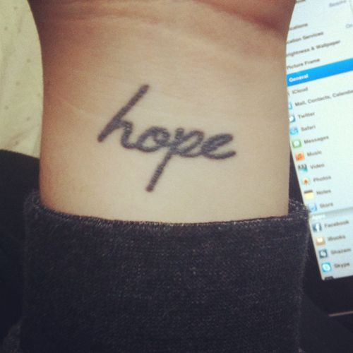 Those Who Are Strong Never Lose Hope