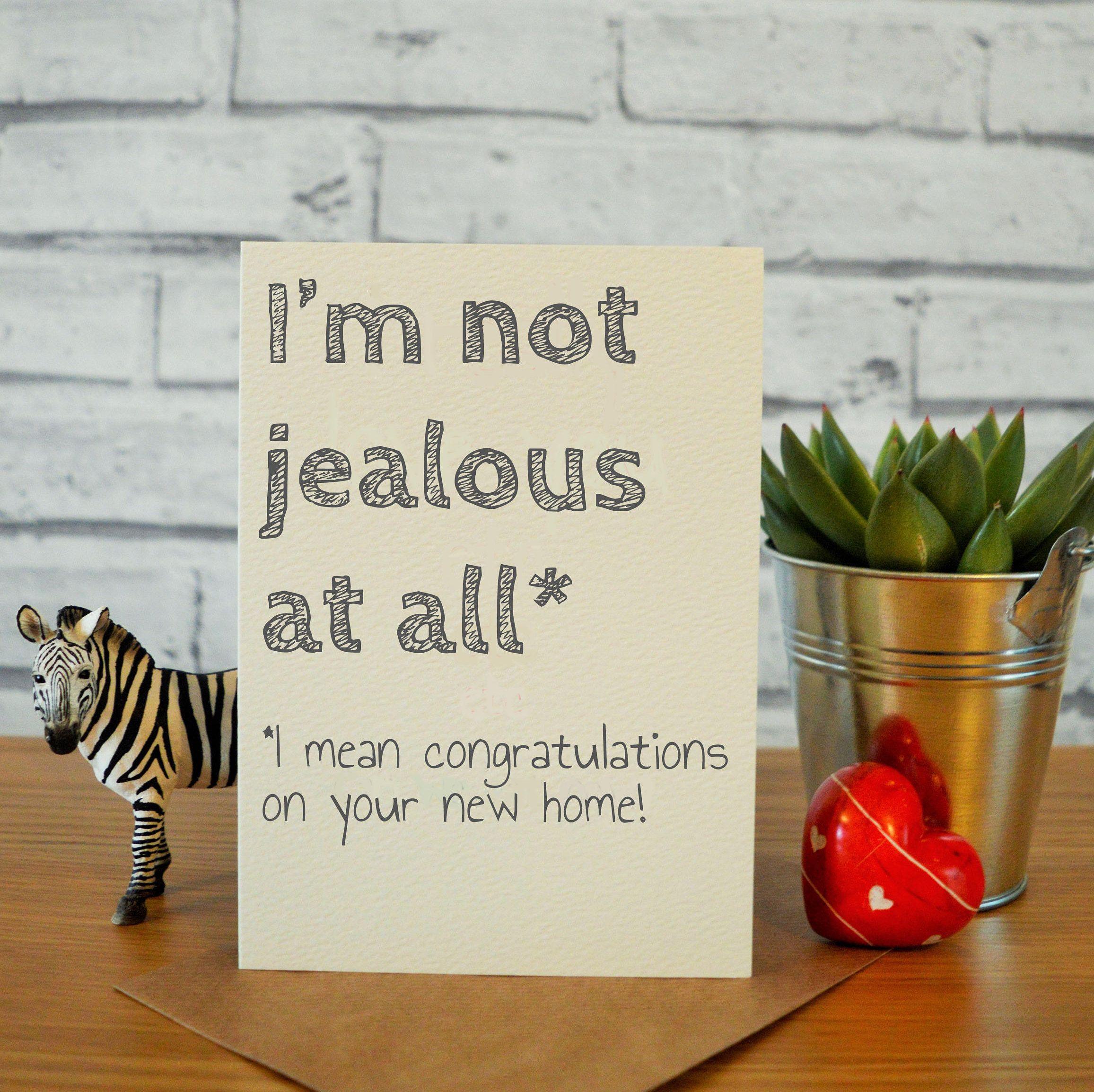 New Home Card Funny Congratulations