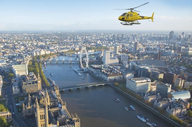 Helicopter Flight in London