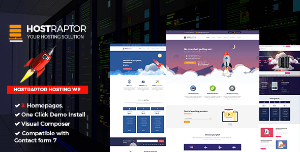 Download Hostraptor v1.2 - Hosting Responsive Website Theme Nulled ...