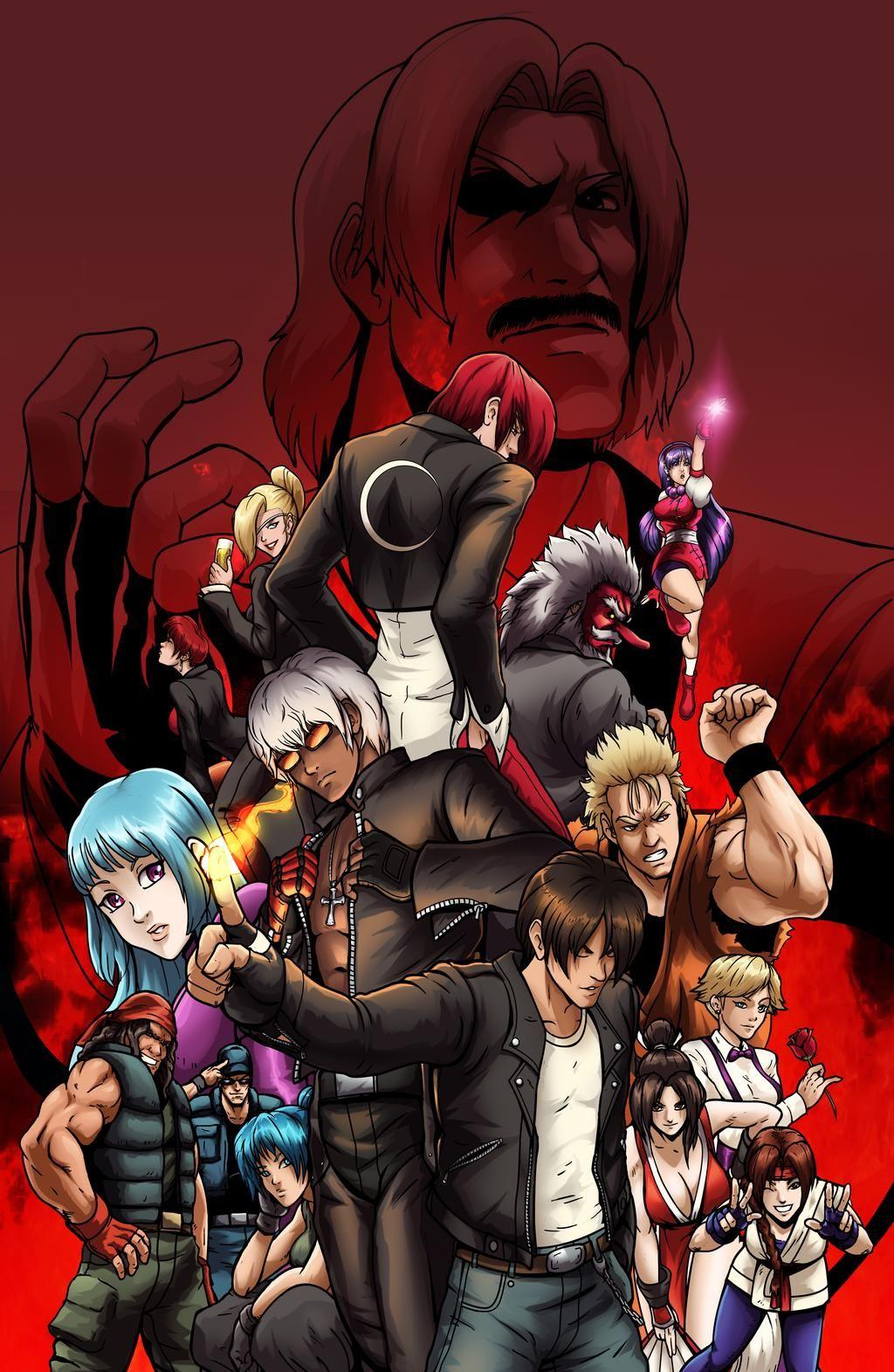 Kof Poster By Joe Sketch On Deviantart In 2020 King Of Fighters Ryu Street Fighter Street Fighter Art