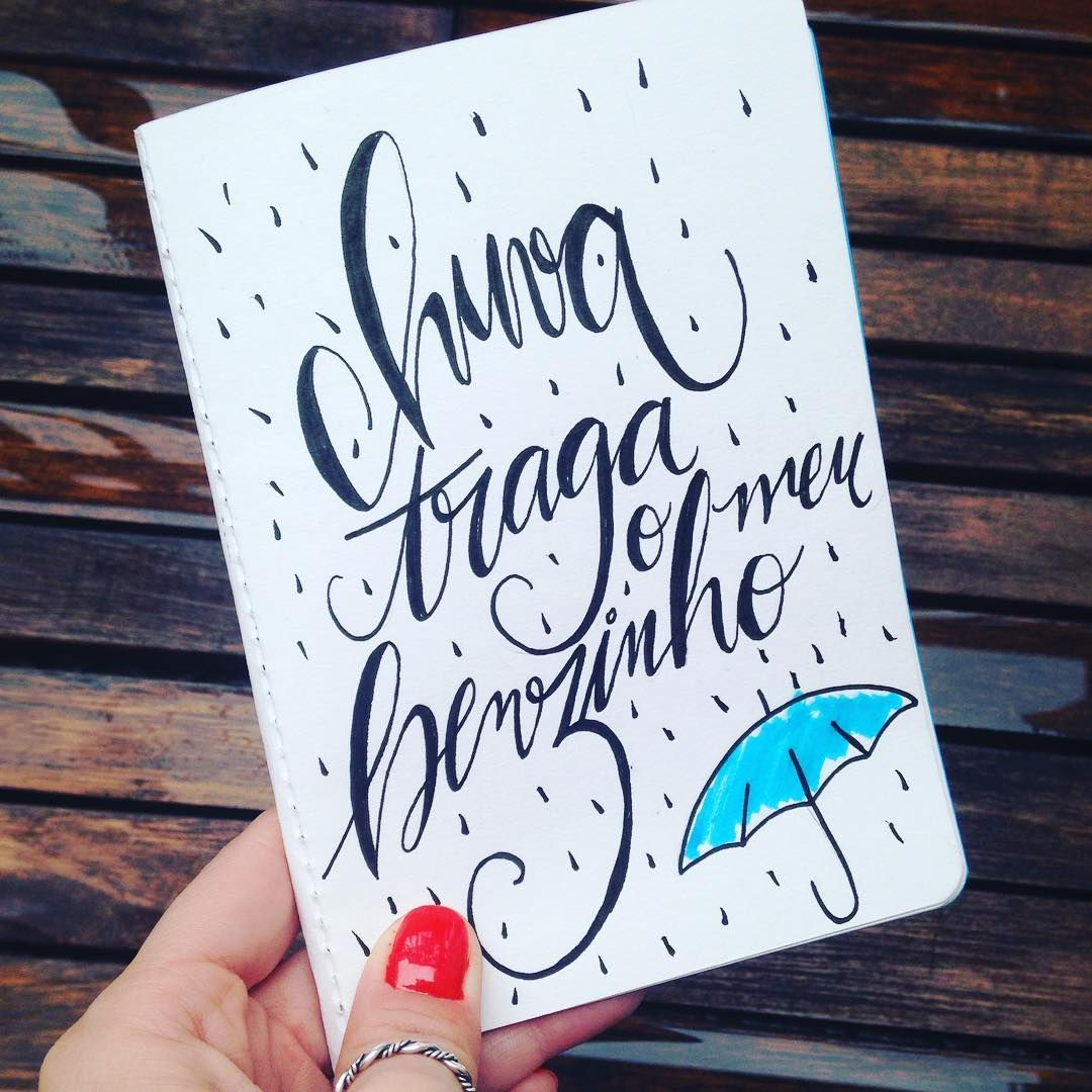 #chuva #sp #poscapen #handwriting #writing #lettering #handlettering #sketchbook #diadechuva