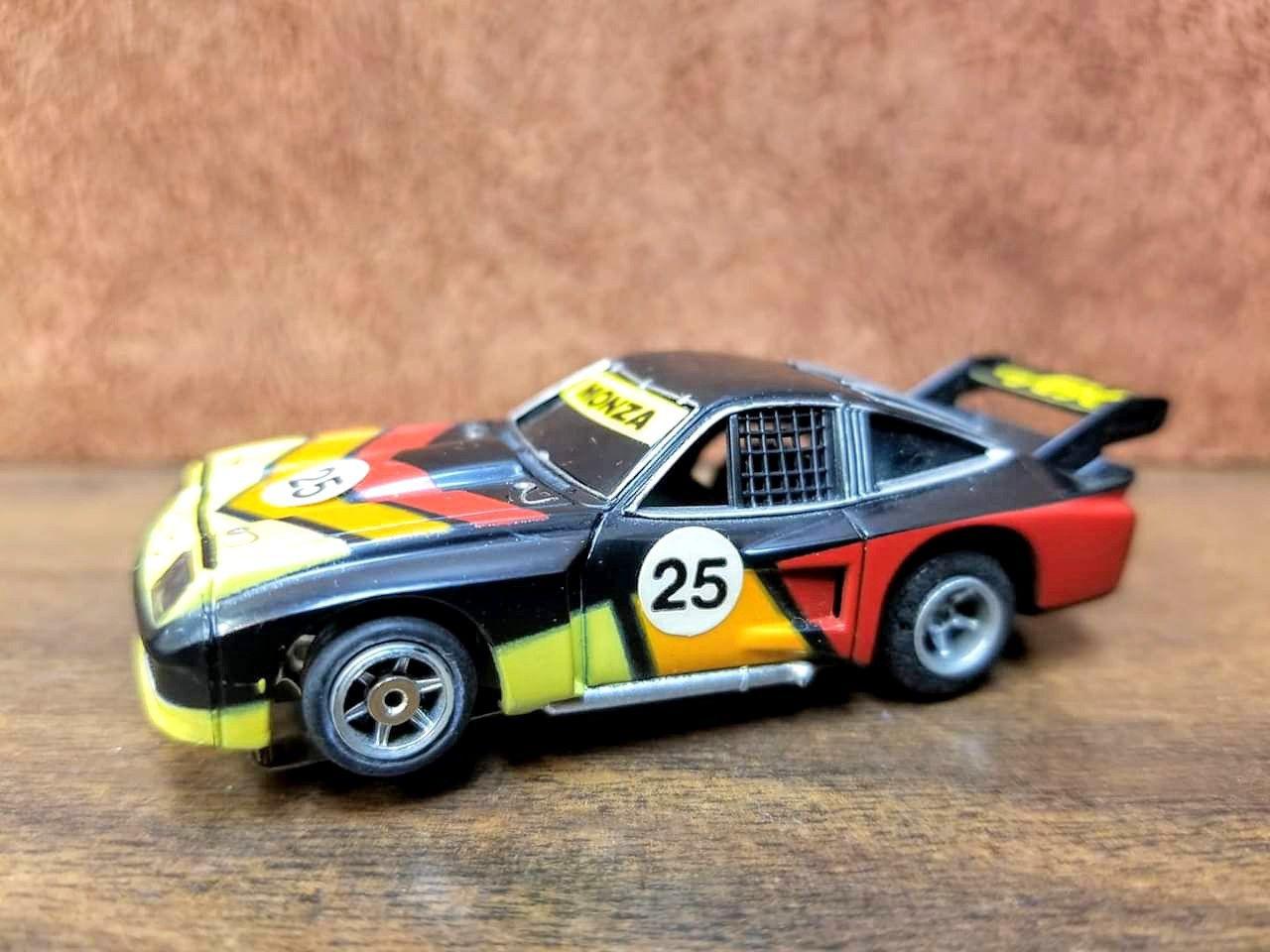 European FALLER A/FX Monza Super Flamethrower with front