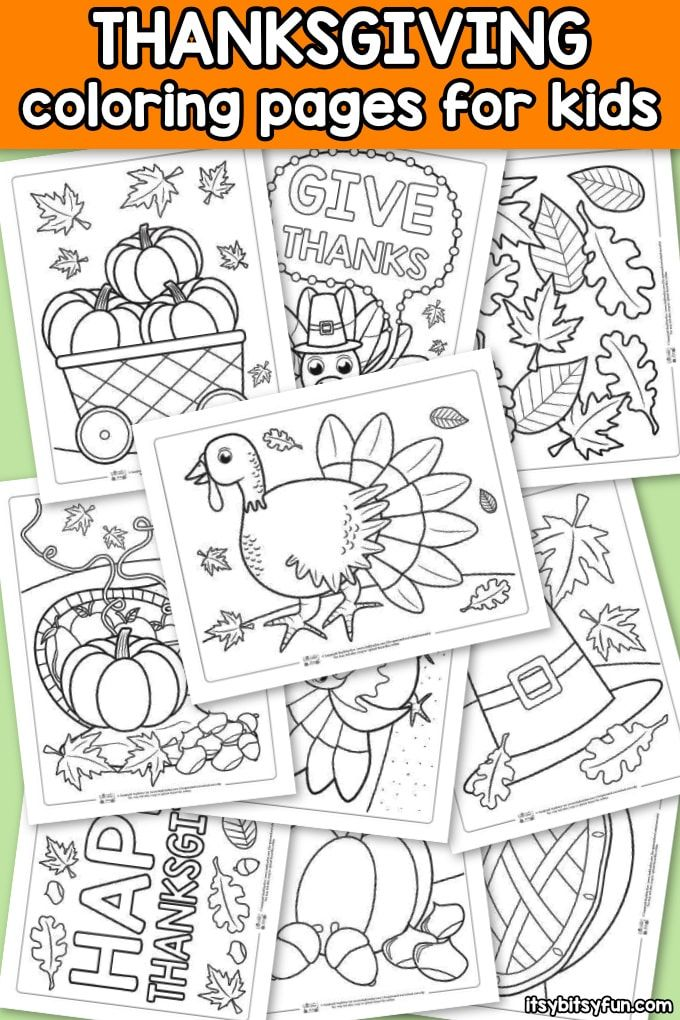 Thanksgiving Coloring Pages | Thanksgiving | Pinterest | Imprimibles ...