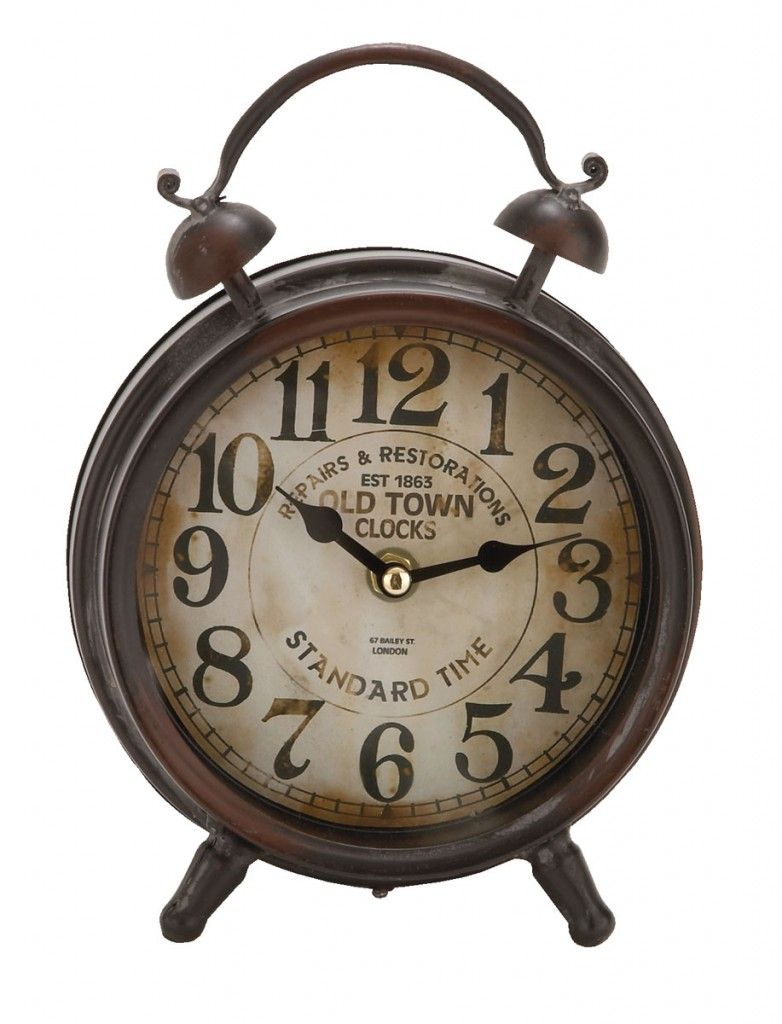 Desk Table Clocks | Old Town 9″ Table Clock | Passport Furnishings - Desk Table Clocks Old Town 9″ Table Clock Passport Furnishings