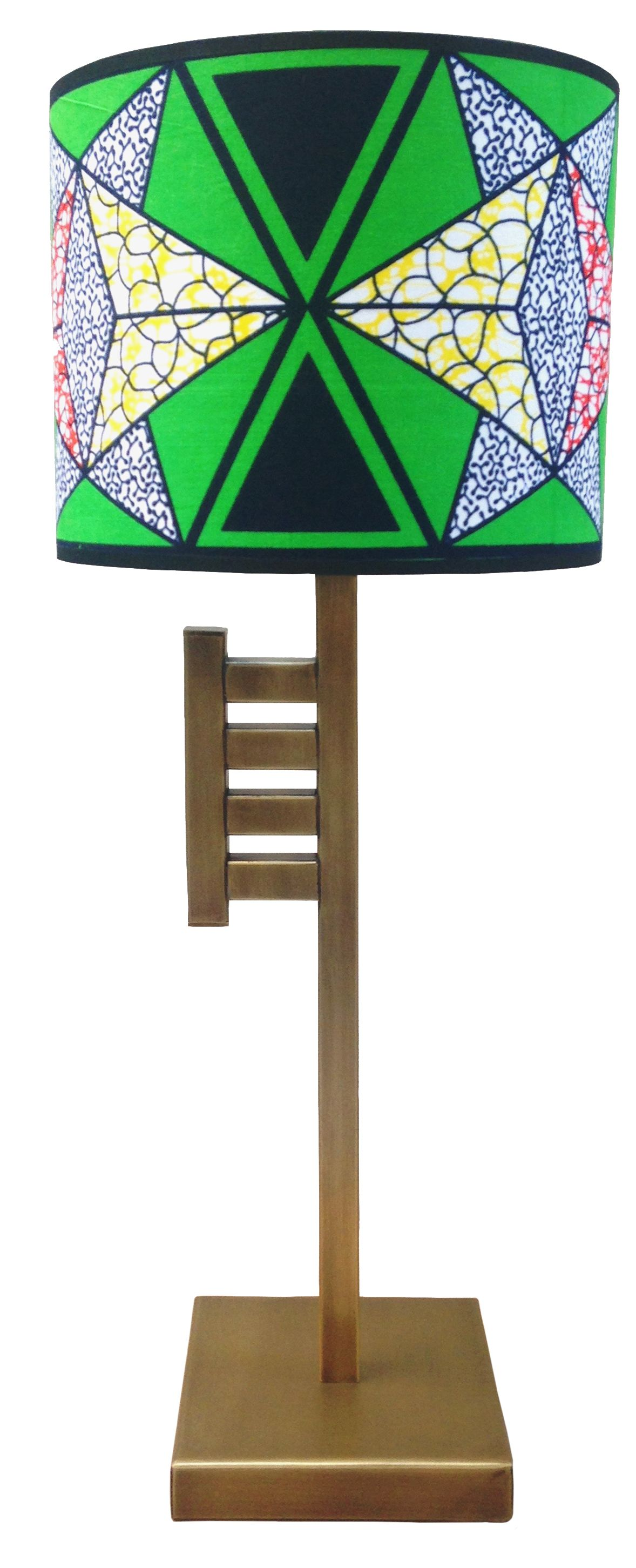 Owuo Atwedee Lamp - The ladder-like form is insipired by the 'Owuo Atwedee' Adinkra symbol used by the Akan people of Ghana. It represents the ladder of death and symbolises the futile nature of life. The 'Owuo Atwedee' lamp is a 3rd Culture design inspired by Ghana, made in Turkey.