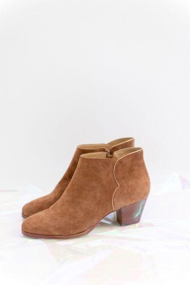 f510d14603e39 chaussures lazarette fauve   Je botte en touche!   Chaussure, Bottes ...