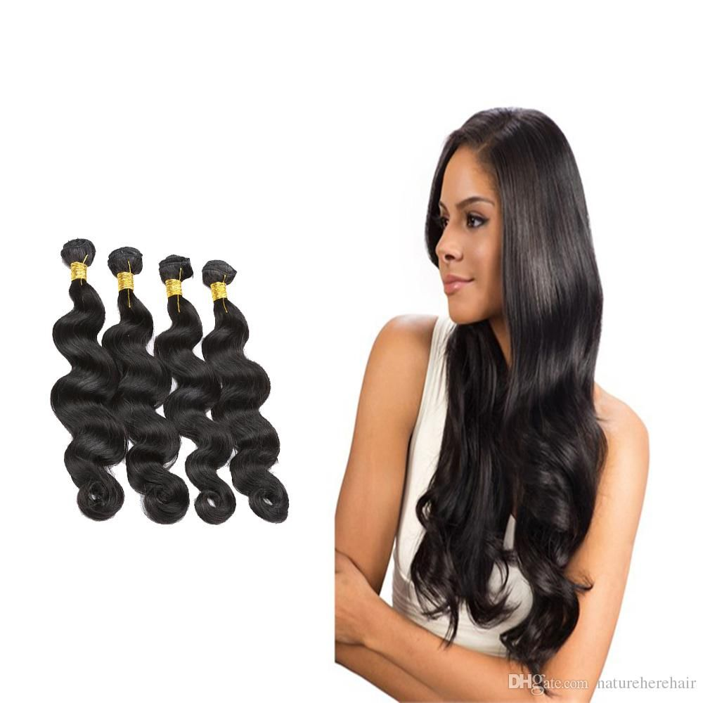 Malaysian body wave bundles 100g hair extensions 100 human hair malaysian body wave bundles 100g hair extensions 100 human hair bundles double weft non remy pmusecretfo Image collections