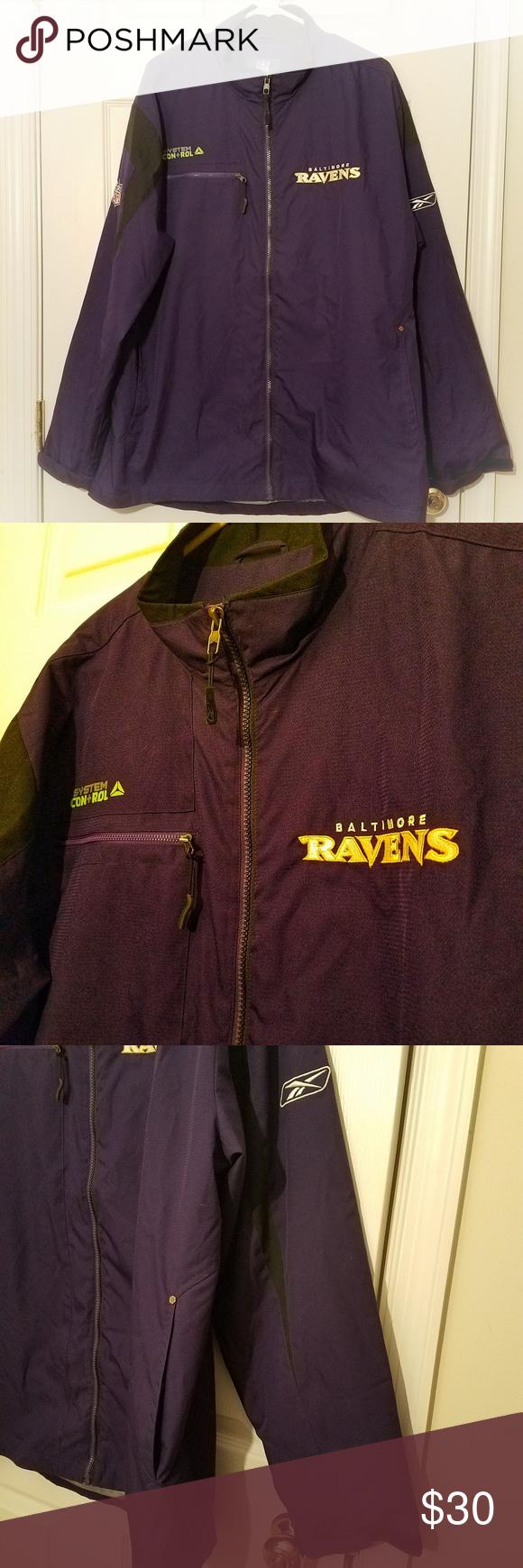 Reebok Sideline Baltimore Ravens Men S Jacket Jackets Clothes Design Mens Jackets [ 1740 x 580 Pixel ]