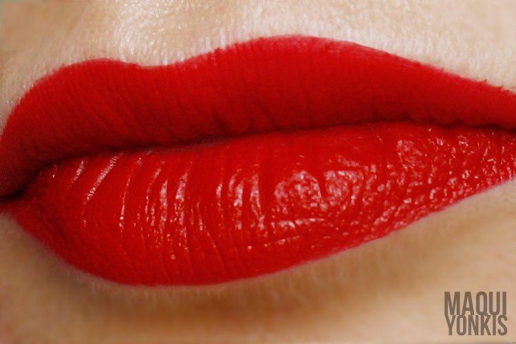 Labial Russian Red de M·A·C: El Rojo