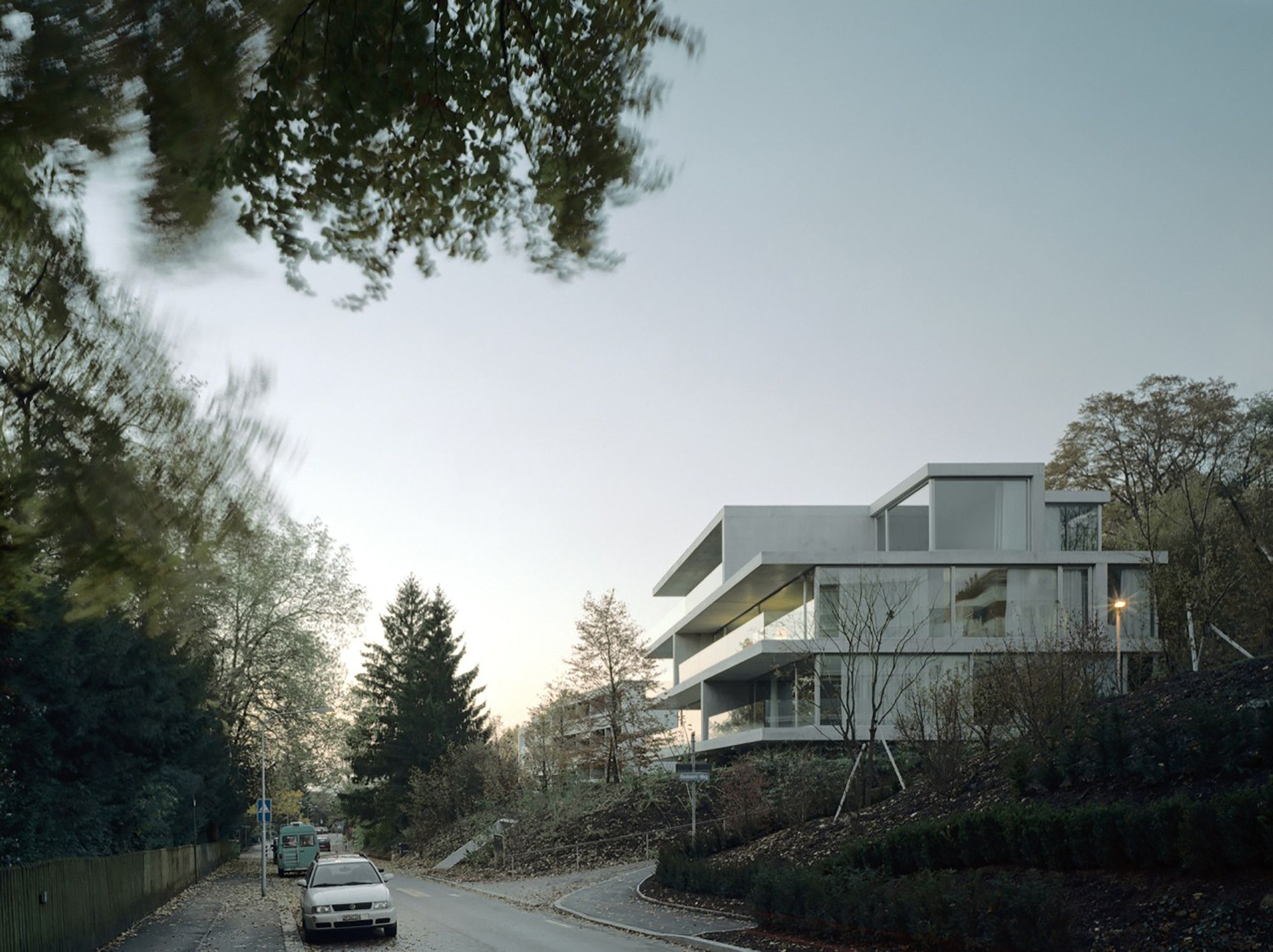 Gallery of Apartment Building on Forsterstrasse / Christian Kerez - 1