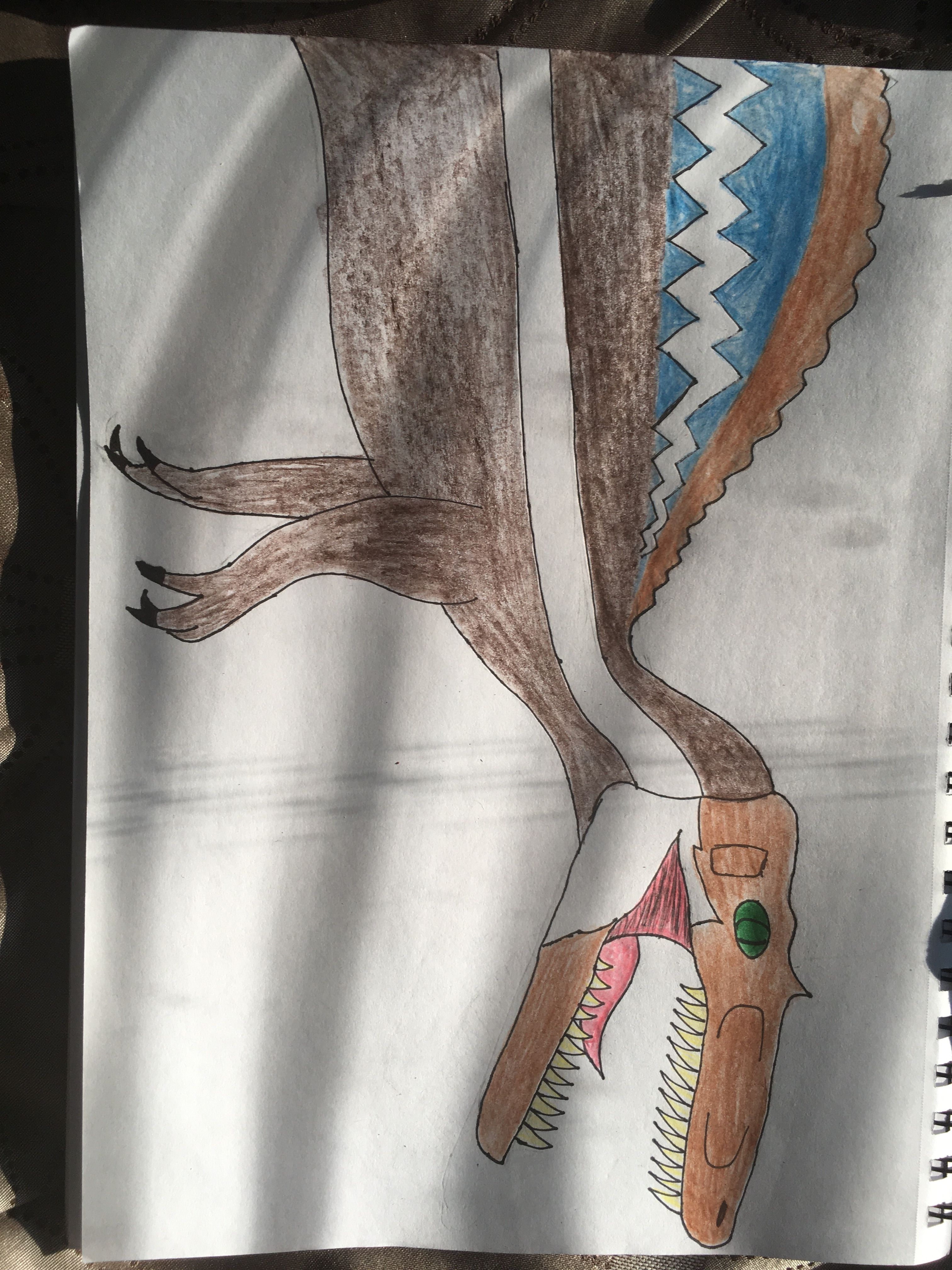 Spinosaurus  #jurassicparkworld My favorite Dino villain in the Jurassic Park/World Series #jurassicparkworld